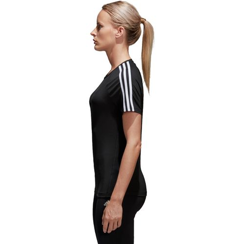 adidas Women's D2M 3-Stripes T-shirt - view number 6