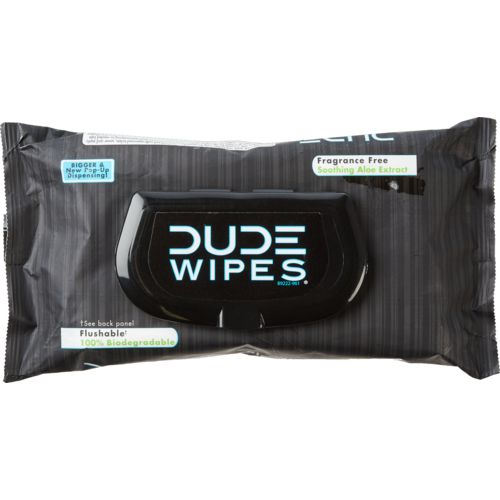 DUDE Wipes Flushable 48-Pack