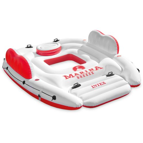 INTEX Marina Breeze Inflatable Island with Built-in Cooler
