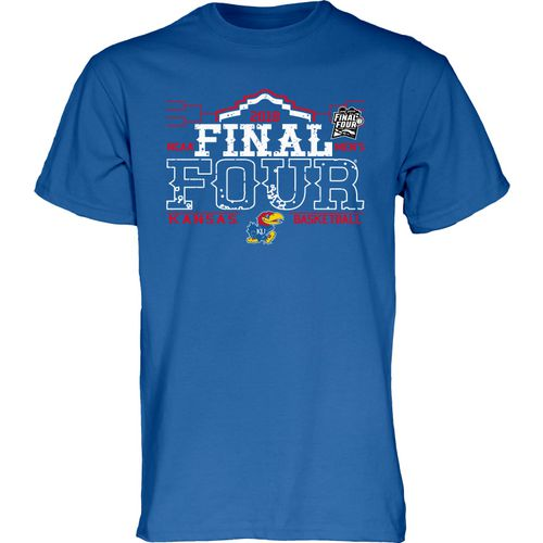 Blue 84 Men's University of Kansas 2018 Final Four Top Speed T-Shirt