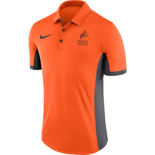 Display product reviews for Nike™ Men's Oklahoma State University Dri-FIT Evergreen Polo Shirt