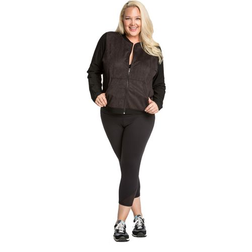 Lola Getts Women's Plus Size Track Jacket