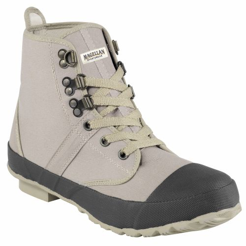 Magellan Outdoors Men's Canvas Wading Boots (Medium Beige)