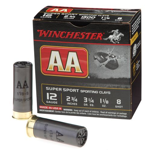 Display product reviews for Winchester AA Super Sport Target Load 12 Gauge Shotshells