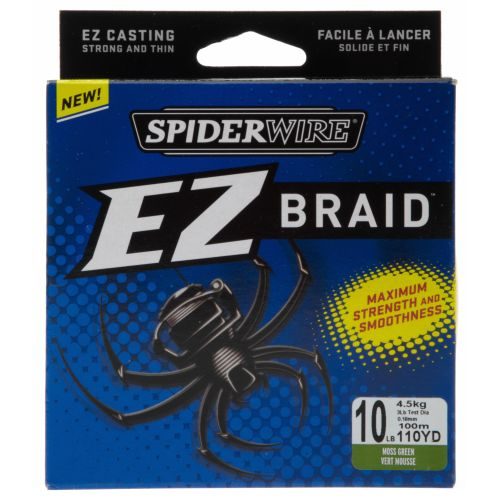 Image for Spiderwire® EZ Braid™ 10 lb. - 110 yards Braided Fishing Line from Academy