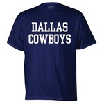 Reebok Men's Dallas Cowboys Fan Gear Coaches Short Sleeve T-shirt - view number 1