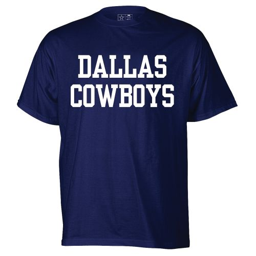 Reebok Men's Dallas Cowboys Fan Gear Coaches Short Sleeve T-shirt