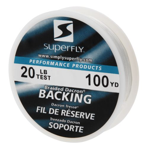 Superfly Premium Performance 100-Yard Fly Line Backing