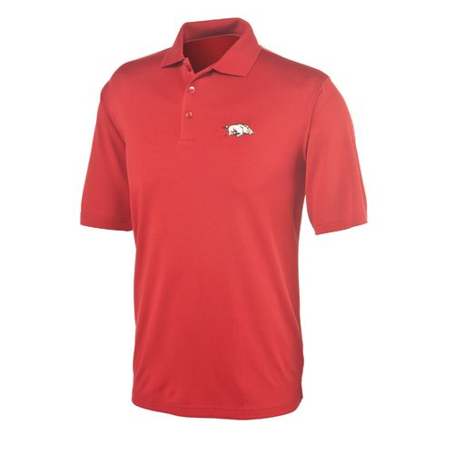 Antigua Men's University of Arkansas Piqué Xtra-Lite Polo