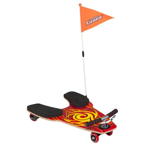 Fuzion Kids' Spinner Shark 4-Wheel Kneeboard