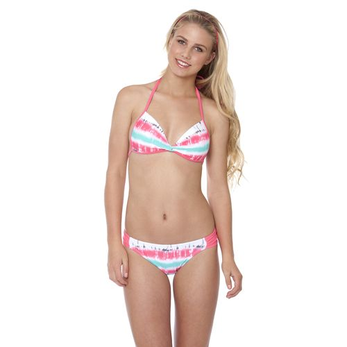 Image for O'Rageous® Juniors' Beach Wave Molded Bralette Swim Top from Academy