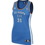 adidas™ Women's Kevin Durant Oklahoma City Thunder Road Jersey - view number 2