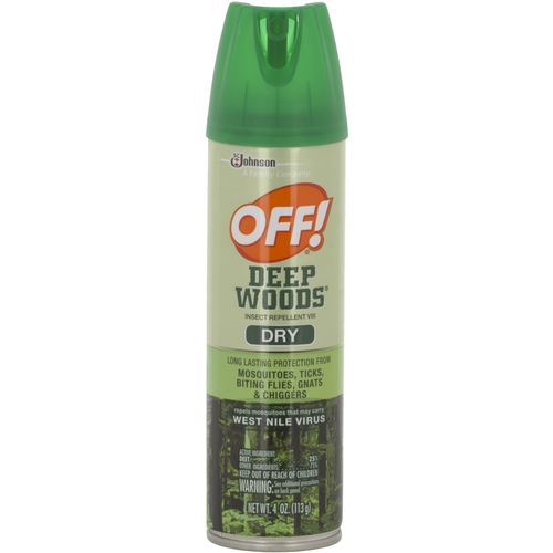 OFF! Deep Woods 4 oz. Dry Aerosol Mosquito Repellent
