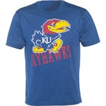 Colosseum Athletics Men's University of Kansas Ace Crew Neck T-shirt