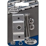 Driftmaster Li'l Pro Square Rail Rod Holder Clamp Base