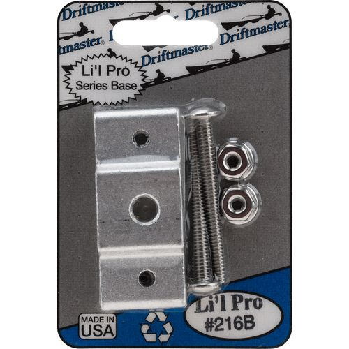 Driftmaster Li'l Pro 3/8' Thread Square Rail Rod Holder Clamp Base