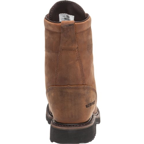 Justin Men's Wyoming Waterproof Steel Toe Work Boots - view number 4