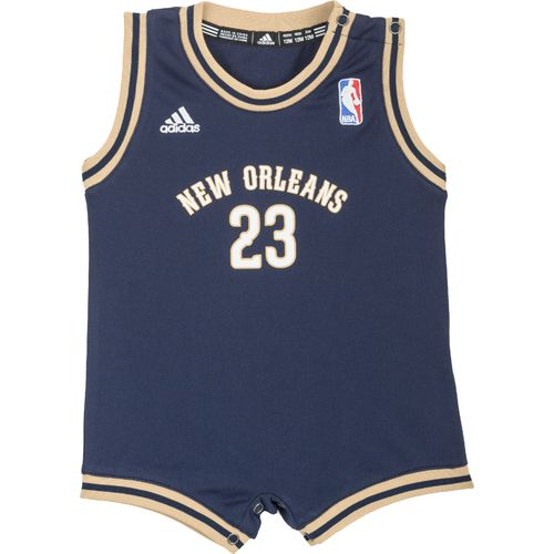 adidas™ Infants' New Orleans Team Color Flat Back Mesh Onesie