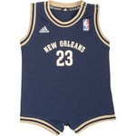 adidas™ Infants' New Orleans Team Color Flat Back Mesh Onesie - view number 1