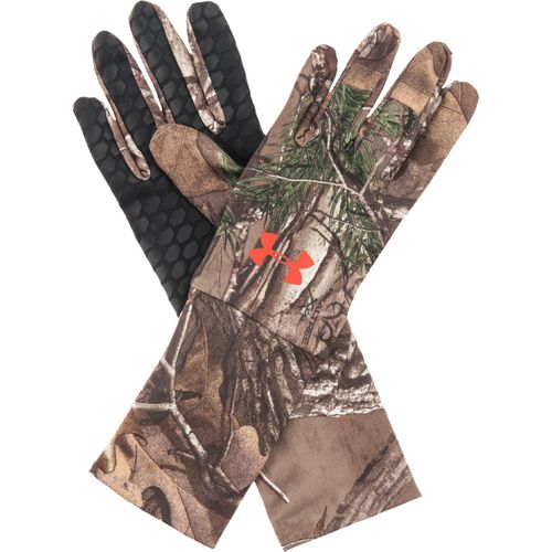 Image for Under Armour® Men's ColdGear® Realtree AP Camo Liner Gloves from Academy