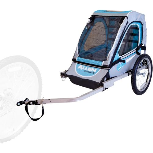 Allen Sports SST1 2-in-1 Hitch-Mounted Bike Trailer/Jogger - view number 3
