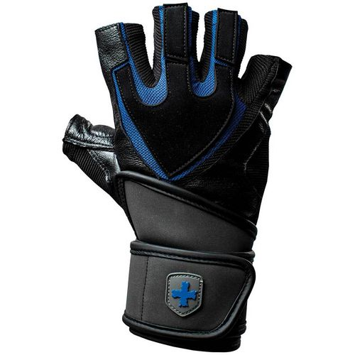Harbinger Men's Training Grip Wrist Wrap Gloves