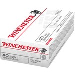 Winchester USA Full Metal Jacket .40 Smith & Wesson 180-Grain Handgun Ammunition - view number 1