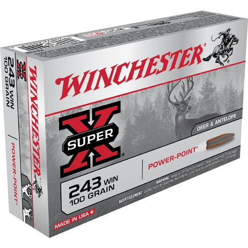 Winchester Texas Edition Power-Point .243 Winchester 100-Grain