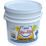 JUGS Lite-Flite Baseballs 18-Count Bucket - view number 1