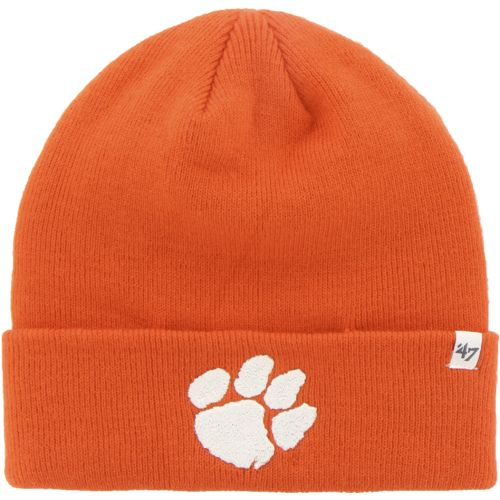 '47 Men's Clemson University Raised Cuff Knit Cap