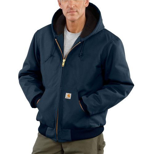 Carhartt Mens Duck Active Quilted Flannel Lined Jacket (Multiple Colors)