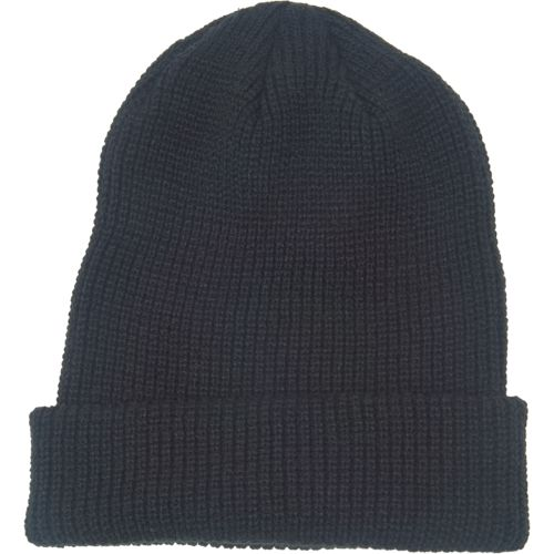 Magellan Outdoors Men's Solid Roll-Up Beanie - view number 1