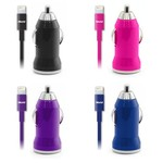 iWorld™ Car Charger and USB Charge Sync