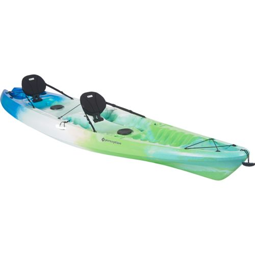 Perception pescador 13 39 tandem sit on top kayak academy for Perception fishing kayak
