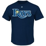 Majestic Men's Tampa Bay Rays Evan Longoria #3 T-shirt - view number 2