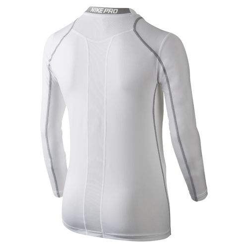 Nike Boys' Hypercool High Brand Read Fitted Long Sleeve Top - view number 2