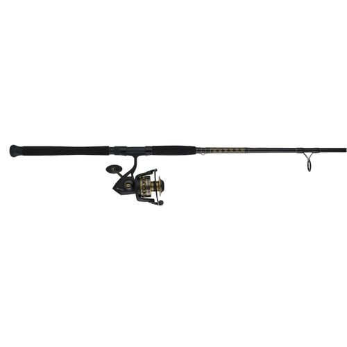 Penn battle ii 10 39 h saltwater spinning rod and 8000 reel for Saltwater fishing rod and reel combos