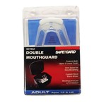 SafeTGard Adults' Elite Performance Double Mouth Guard with Case - view number 2