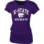 Blue 84 Juniors' Kansas State University Triblend T-shirt