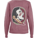 Three Squared Women's Florida State University Arial Fleece Top