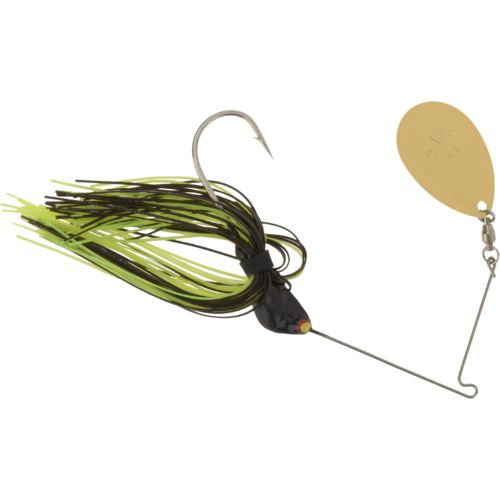 Hoppy's Emerald Blade Short Arm 3/8 oz. Single Frog Head Spinnerbait