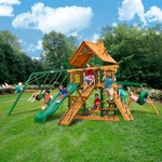 Gorilla Playsets™ Frontier Swing Set with Timber Shield™ - view number 2