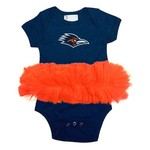 Two Feet Ahead Infants' University of Texas at San Antonio Tutu Creeper