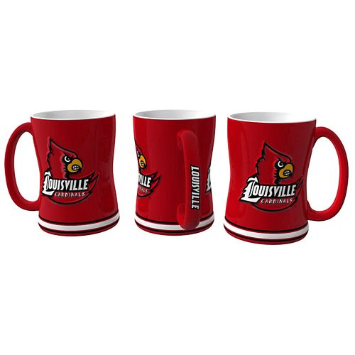 Boelter Brands University of Louisville 14 oz. Relief-Style Coffee Mug