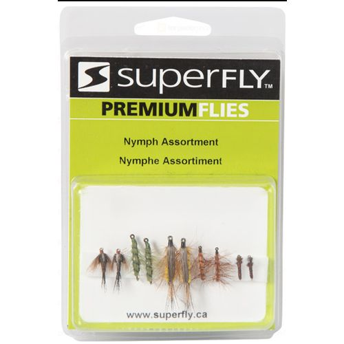 Superfly™ Nymph Assortment Flies 10-Pack