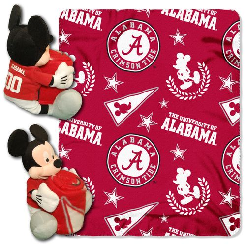 The Northwest Company University of Alabama Mickey Mouse Hugger and Fleece Throw Set