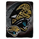 The Northwest Company Jacksonville Jaguars Bevel Micro Raschel Throw