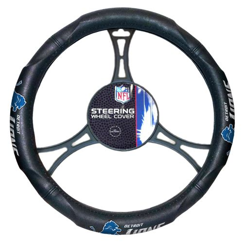 The Northwest Company Detroit Lions Steering Wheel Cover - view number 1