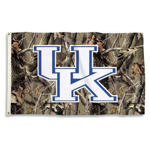 BSI University of Kentucky Camo Flag