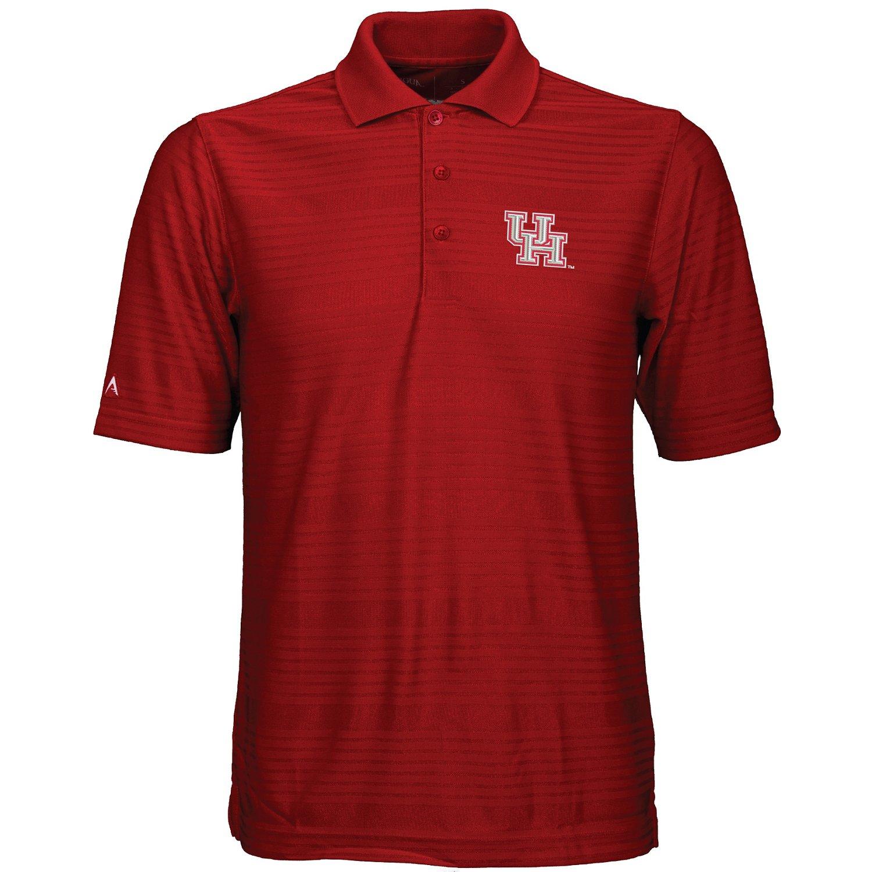 antigua men 39 s university of houston illusion polo shirt
